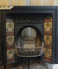 UN079 - Unrestored Fireplace Insert