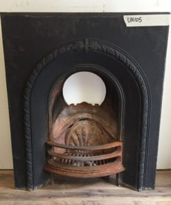 UN105 - Unrestored Fireplace Insert