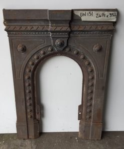UN151 - Unrestored Bedroom Fireplace