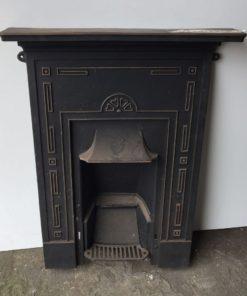 UN176 - Unrestored Bedroom Fireplace