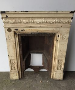 UN178 - Unrestored Bedroom Fireplace
