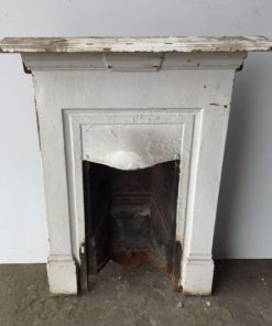 UN179 - Unrestored Bedroom Fireplace