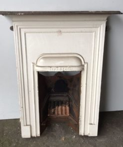 UN185 - Unrestored Bedroom Fireplace