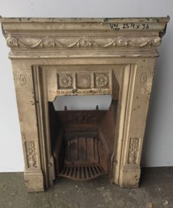 UN188 - Unrestored Bedroom Fireplace