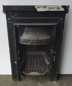 UN189 - Unrestored Bedroom Fireplace