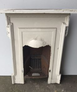 UN191 - Unrestored Bedroom Fireplace