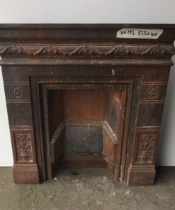 UN193 - Unrestored Bedroom Fireplace