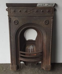 UN218 - Unrestored Bedroom Fireplace