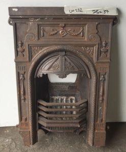 UN222 - Unrestored Bedroom Fireplace