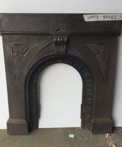UN223 - Unrestored Bedroom Fireplace