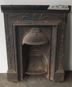 UN224 - Unrestored Bedroom Fireplace