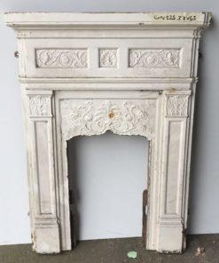 UN225 - Unrestored Bedroom Fireplace