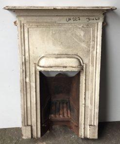 UN227 - Unrestored Bedroom Fireplace