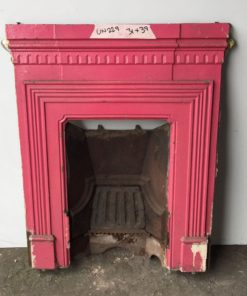 UN229 - Unrestored Bedroom Fireplace