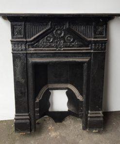 UN230 - Unrestored Bedroom Fireplace