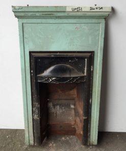 UN231 - Unrestored Bedroom Fireplace