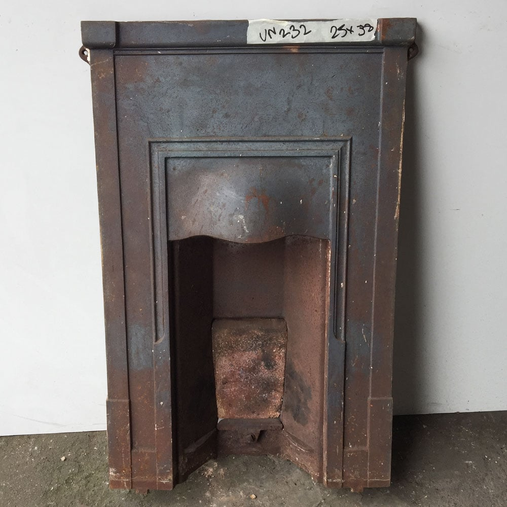 Antique Vintage Bedroom Fireplace: Original Unrestored Bedroom Fireplace (UN232)