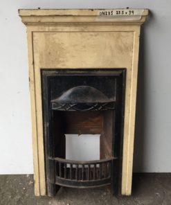 UN235 - Unrestored Bedroom Fireplace