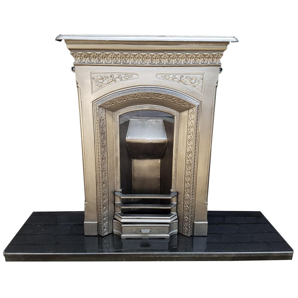 Antique Vintage Bedroom Fireplace: Bedroom Cast Iron Fireplace