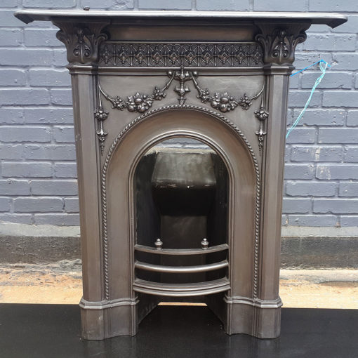 BED191 - Antique Bedroom Fireplace