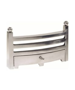 "Bauhaus Fireplace Fret (16"") (Chrome)"