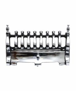 "Blenheim Fireplace Fret (16"") (Chrome)"