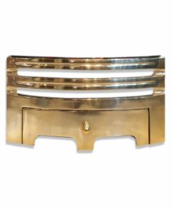 "Grace Fireplace Fret (16"") (Brass)"