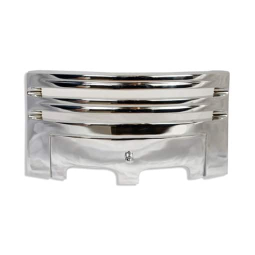 "Grace Fireplace Fret (16"") (Chrome)"