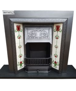 Highly Detailed Original Fireplace Insert - INS347