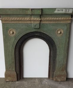 UN238 - Unrestored Bedroom Fireplace