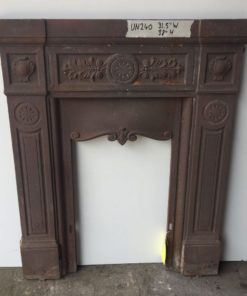 UN240 - Unrestored Bedroom Fireplace