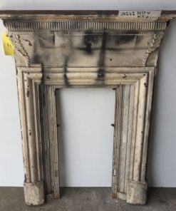 UN242 - Unrestored Bedroom Fireplace