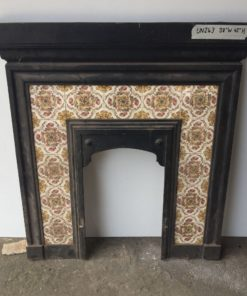 UN243 - Unrestored Bedroom Fireplace