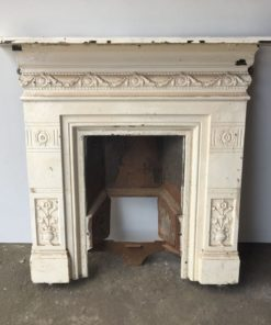 UN244 - Unrestored Bedroom Fireplace