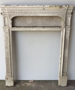 UN247 - Unrestored Bedroom Fireplace