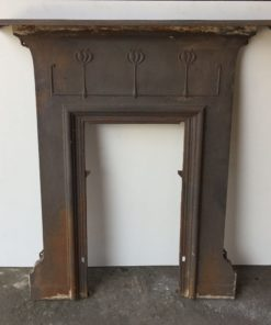 UN250 - Unrestored Bedroom Fireplace