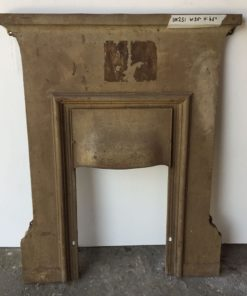 UN251 - Unrestored Bedroom Fireplace