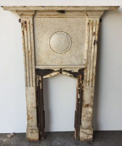 UN252 - Unrestored Bedroom Fireplace