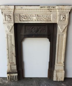 UN253 - Unrestored Bedroom Fireplace