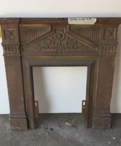 UN254 - Unrestored Bedroom Fireplace