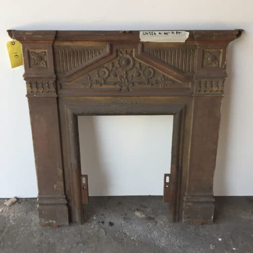 UN254 - Unrestored Bedroom Fireplace