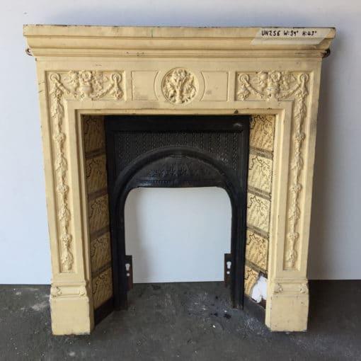 UN256 - Unrestored Bedroom Fireplace