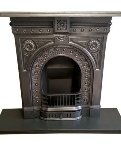 BED195 - Cast Iron Bedroom Sized Fireplace