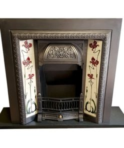 INS349 - Original Cast Iron Fireplace Insert
