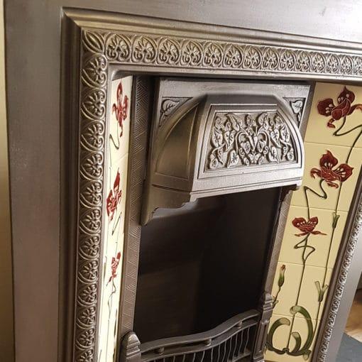 INS349 - Original Cast Iron Fireplace Insert