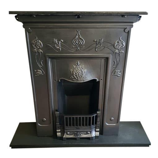 BED198 - Fully Restored Original Bedroom Fireplace