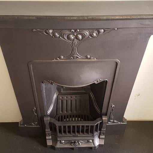 BED203 - Original Bedroom Fireplace Antique