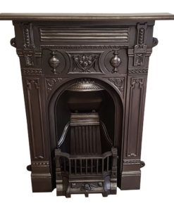 BED205 - Original Ornate Bedroom Fireplace