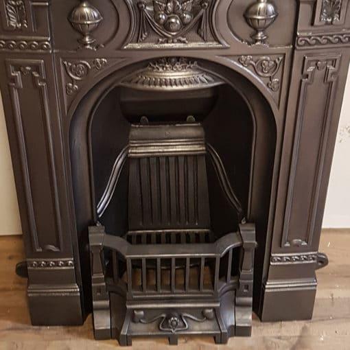 BED205 - Original Ornate Bedroom Fireplace