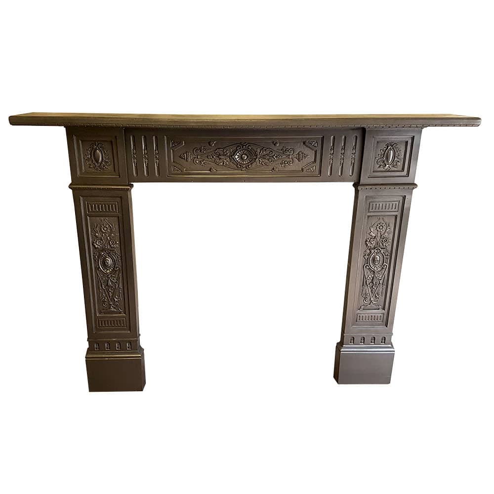 Intricate Cast Iron Fireplace Surround For Sale - Victorian ...